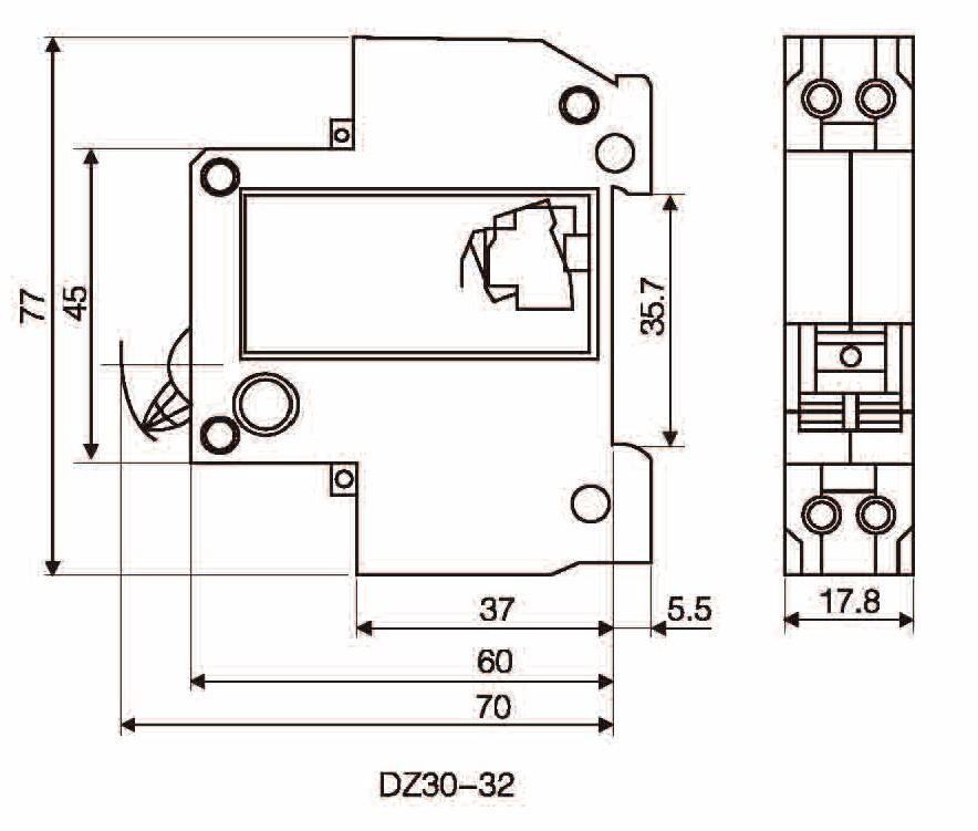 DZ30-32 MCB