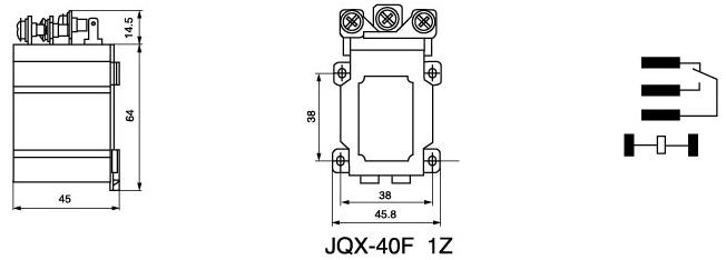 JQX-40F Power Relay