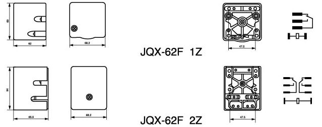 JQX-62F Power Relay