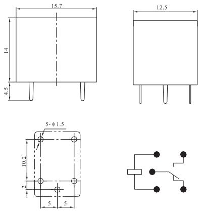 PCB Relays T78