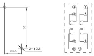 TP58X Relay Socket