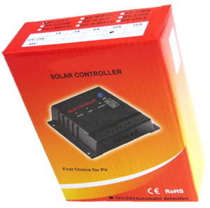 solar charge lighting controller