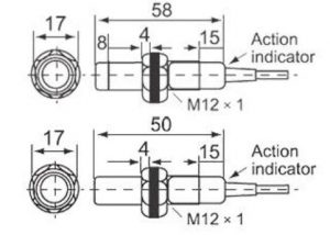 inductive proximity switch drawing